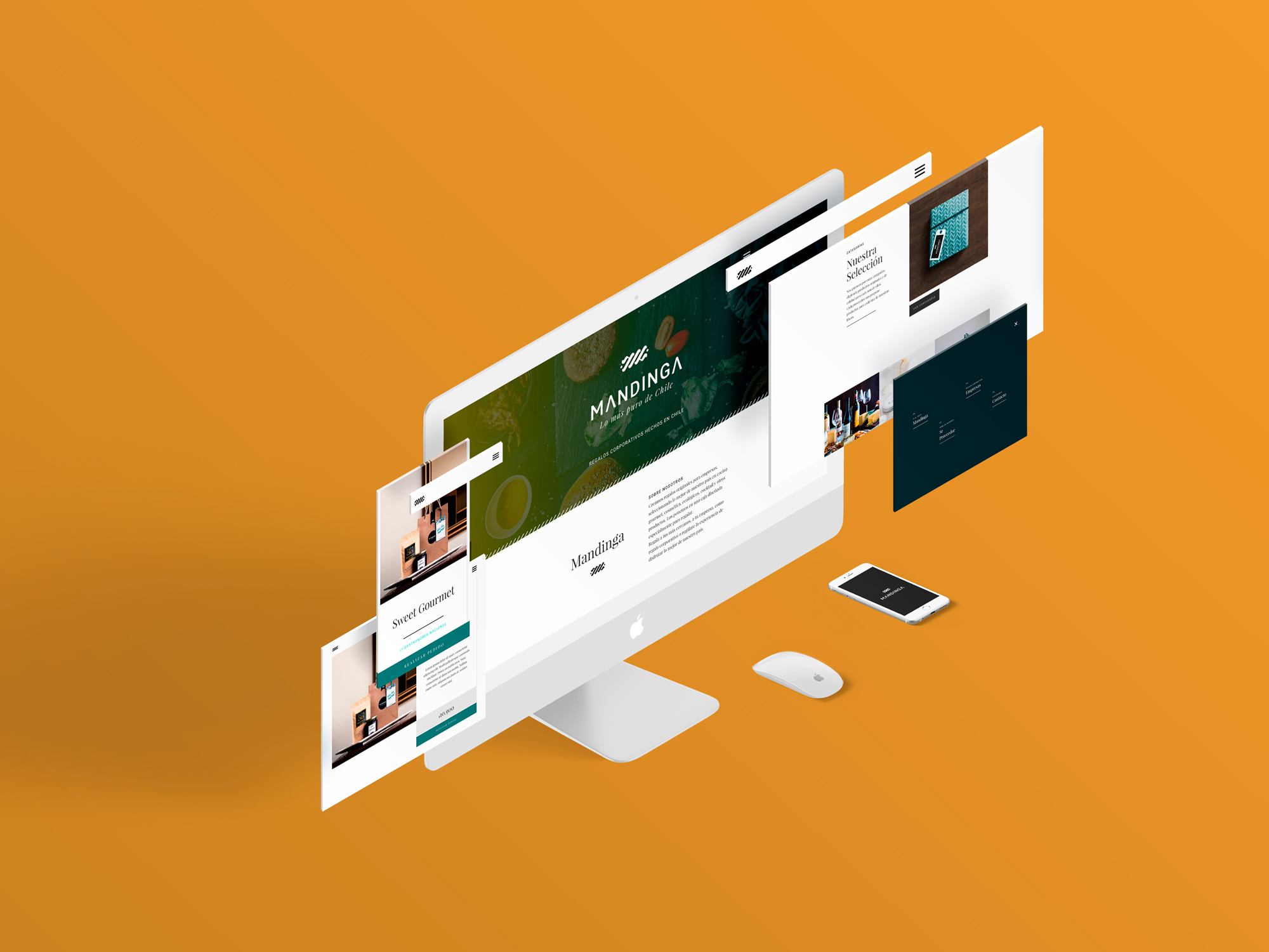 Sitio Web Autoadministrable para Mandinga, Holymonkey, Agencia Creativa Digital. Sitios Web, Audiovisual y Diseño gráfico para empresas, Providencia, Santiago Chile.