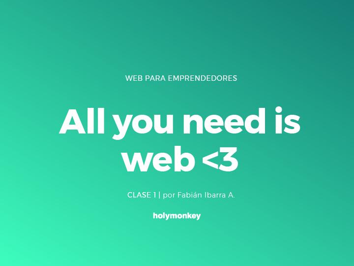 Cursos - Web para emprendedores parte 1