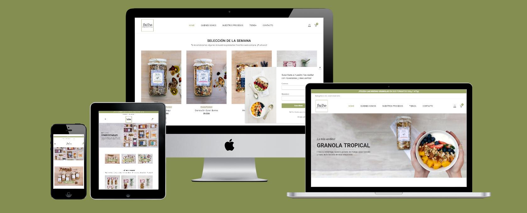 Da'Oro - HolyMonkey - Productora Audiovisual - Diseño Web - Agencia Creativa
